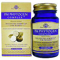 Solgar, Комплекс PM PhytoGen, 60 таблеток