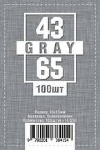 Протекторы для карт 100 шт. (43 х 65 мм)