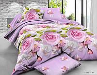 Двуспальный  комплект постельного белья  Букет Цветов