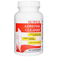 Health Plus Inc., Super Adrenal Cleanse, шаг 5, 90 капсул
