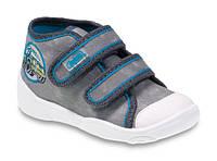 """Детские текстильные кеды 212P050""""Befado Maxi""""размеры 21-26"""