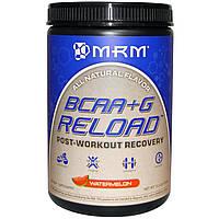 MRM, BCAA + G Reload, восстановление после тренировки, арбуз, 11,6 унций (330 г)
