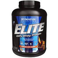 Dymatize Nutrition, 100% сывороточный протеин серии Elite, со вкусом шоколада, 5 фунтов (2270 г)