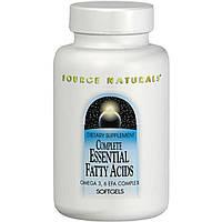 Source Naturals, Полный комплекс незаменимых жирных кислот, 120 мягких желатиновых капсул