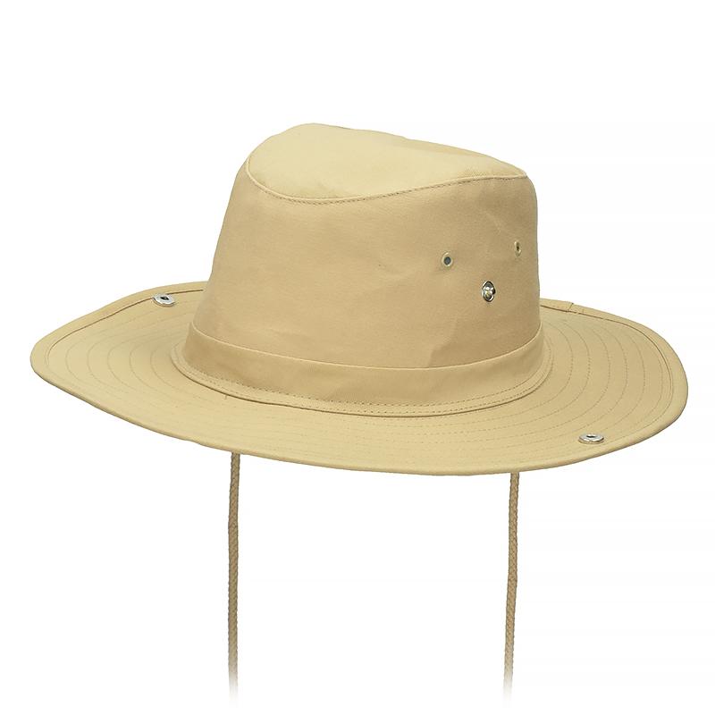 Панама с кнопками по бокам MilTec Bush Hat Khaki 12320004