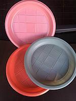 Тарелка одноразовая десертная 165 мл., 50 шт./уп. Дифлон