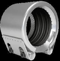 Муфта с жесткой фиксацией для комбинирования Металлических и ПЭТ труб GRIP