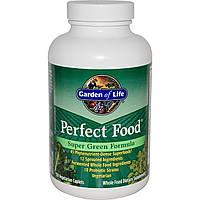 Garden of Life, Perfect Food, Super Green Formula, 150 вегетарианских каплетов