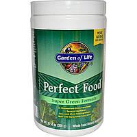 Garden of Life, Супер зеленая формула Perfect Food, 10.58 унций (300 г)