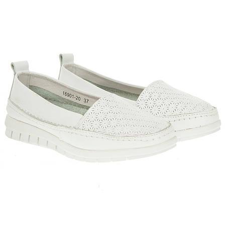 Эспадрильи женские Lifeexpert (белого цвета, модные, удобные, легкие)