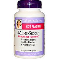 Natural Factors, WomenSense, MenoSense, формула для приема в период менопаузы, 90 растительных капсул