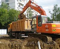 Грунт на подсыпку Киев Доставка строительного грунта Насыпка участков