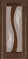 Двери межкомнатные Терминус. Модель 15.Декор венге ПО