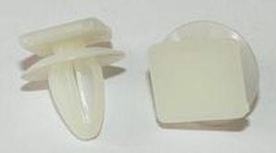 Автокрепеж, Дві капелюшки,верхня прямокутна 90498N (T=16; D=14; H=16; F=8)