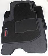 Коврики в салон текстильные Honda Jazz 2008- материал Ciak ML черн. вышивка (5шт/комп)