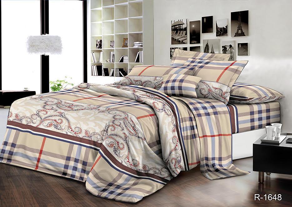 Семейный  комплект постельного белья Лофт NEW