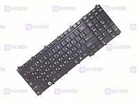 Оригинальная клавиатура для ноутбука Toshiba Qosmio X300, Qosmio X305 series, rus, black, матовая