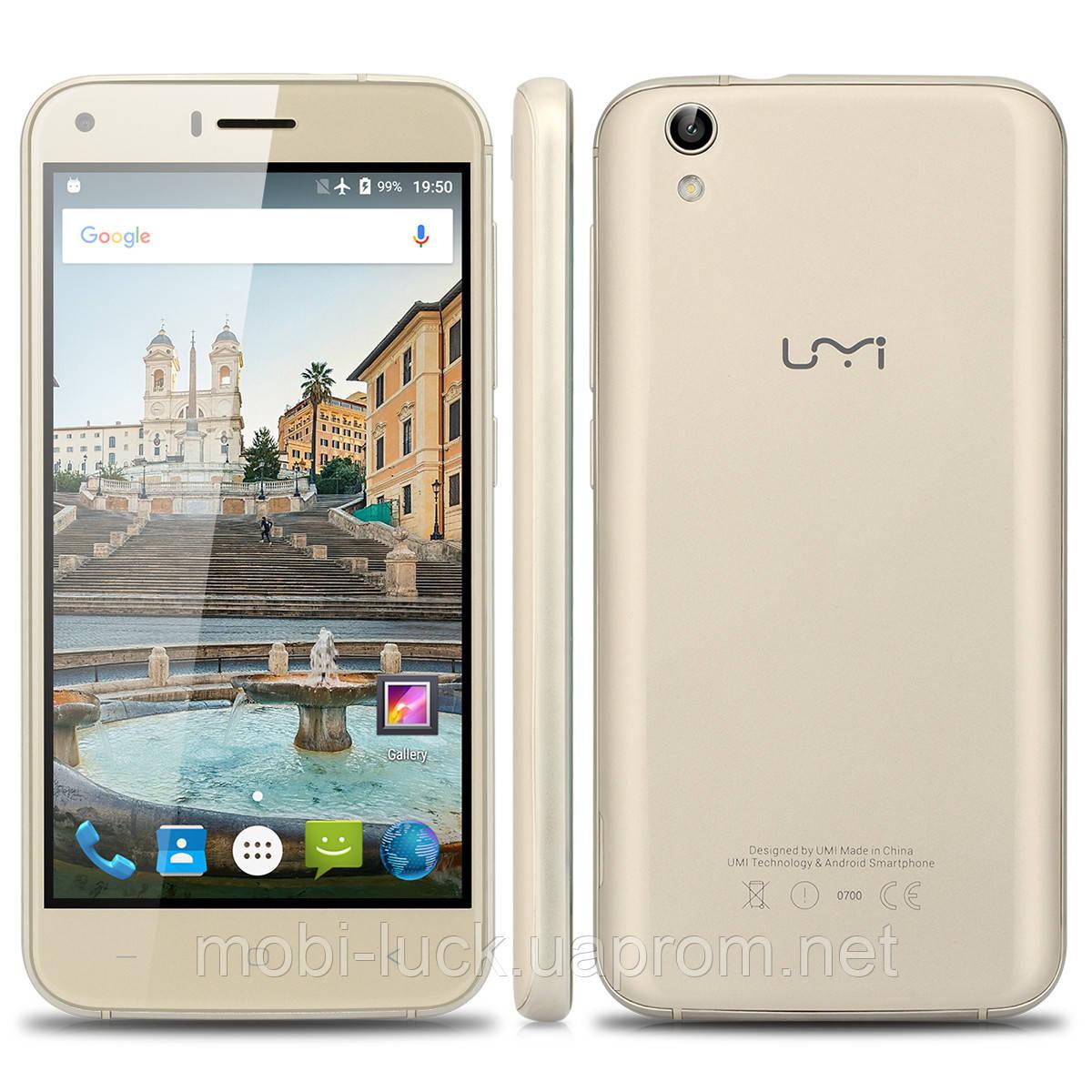 Смартфон UMI London 2 сим,5 дюймов,4 ядра,8 Гб,8 Мп, 3G.