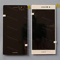 Оригинальный ЛСД экран и Тачскрин сенсор Huawei Ascend P7 модуль