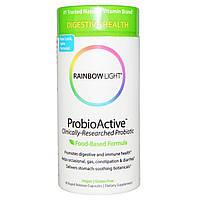 Rainbow Light, ProbioActive, формула на основе продуктов питания, 90 капсул быстрого высвобождения