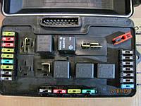 Блок предохранителей Ваз 2109-2115 нового образца (евро) (2115-3722010-40) (монтажный блок)