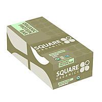Square Organics, Органический протеиновый батончик, миндаль и пряности, покрытые шоколадом, 12 батончиков, 1,7 унции (48 г) каждый