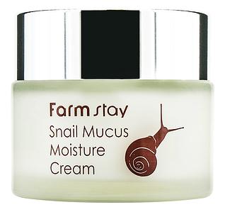 Увлажняющий крем с муцином улитки FARM STAY Snail Mucus Moisture Cream, 50 мл