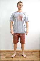 Пижама мужская - футболка и шорты Fabio