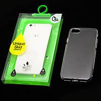 Чехол силиконовый iPhone 7 OU Case Ultra Slim прозрачный