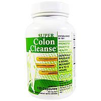 Health Plus Inc., Super Colon Cleanse (очищение толстого кишечника), 500 мг, 120 капсул