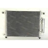 Радиатор кондиционера Chevrolet Aveo 2006- 540*415мм по сотах