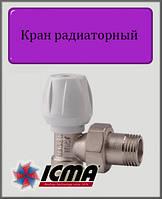 """Угловой ручной вентиль ICMA 1/2"""""""