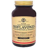 Solgar, Изофлавоны с генистеином и даидзеином, 120 таблеток