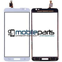 Оригинальный Сенсор (Тачскрин) для LG D680 | D682 | D684 | G Pro Lite (Белый)