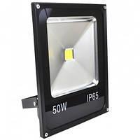 Прожектор LED-SLe- 50W 220В 3500lm 6500K кут 120 Slim Elite