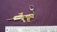 """Брелок для ключей """"Оружие""""  длина с карабином  15,5 см."""