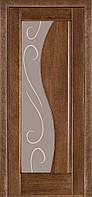 Межкомнатные двери Терминус. Модель 16.Декор дуб браун ПО.