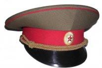 Общевойсковая фуражка офицерская