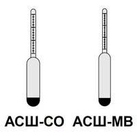 Ареометры для соли АСШ-СО, для морской воды АСШ-МВ