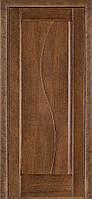 Двери межкомнатные Терминус. Модель 16.Декор дуб браун ПГ.