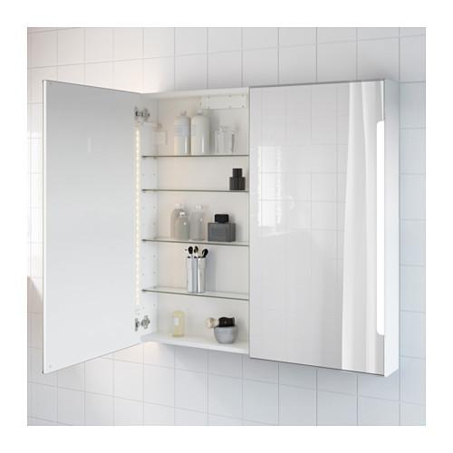 Зеркальные шкафчики IKEA