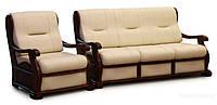 Набор мягкой мебели: диван + кресло