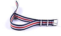 Тканевый Nato ремешок к часам, цветной, 16мм