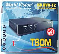 Т2 ресивер тюнер T2 World Vision T60М