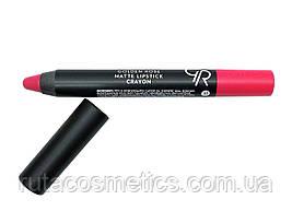 Матова помада, олівець для губ GOLDEN ROSE MATTE LIPSTICK CRAYON [17]