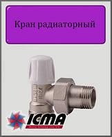 "Угловой нижний вентиль ICMA 1/2"""