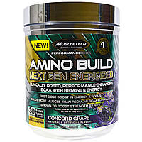 Muscletech, Amino Build Next Gen Energized, груша Конкорд, 280 г (9,86 унций)