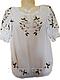 """Жіноча вишита сорочка (блузка) """"Яскраві ромашки"""" (Женская вышитая рубашка (блузка) """"Яркие ромашки"""") BL-0036, фото 2"""