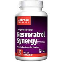 Jarrow Formulas, Ресвератрол совместного действия, 60 таблеток,лучшее