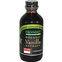 Frontier Natural Products, Экстракт органической ванили, Индонезия, выращенный на ферме продукт, 2 жидких унции (59 мл)